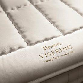 vispring Heaven mattress topper 英國羊毛 薄床墊