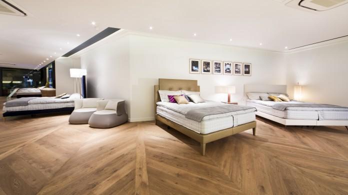 beyond sleep mattress showroom hong kong luxury bed studio
