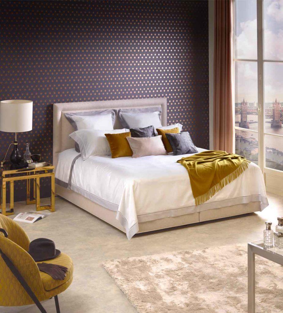 vispring eco-friendly mattress white gold 米色床褥 白色床墊
