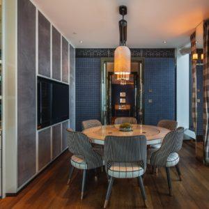 Rosewood x Vispring Dining Room