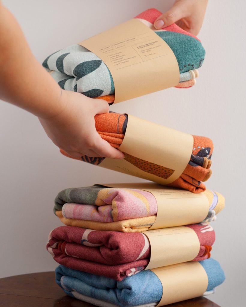 sora colourful towel