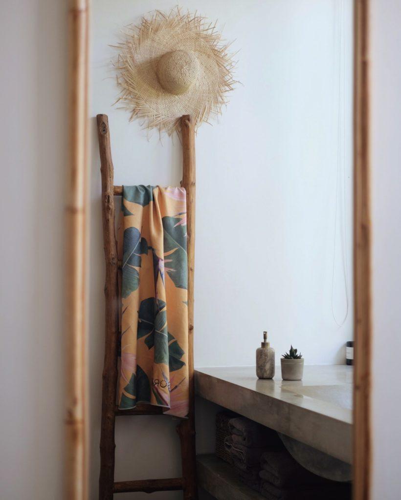 sora towel for the bathroom