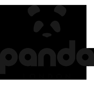 panda london eco bamboo towel logo