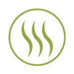 panda london eco bamboo towel green leaf icon