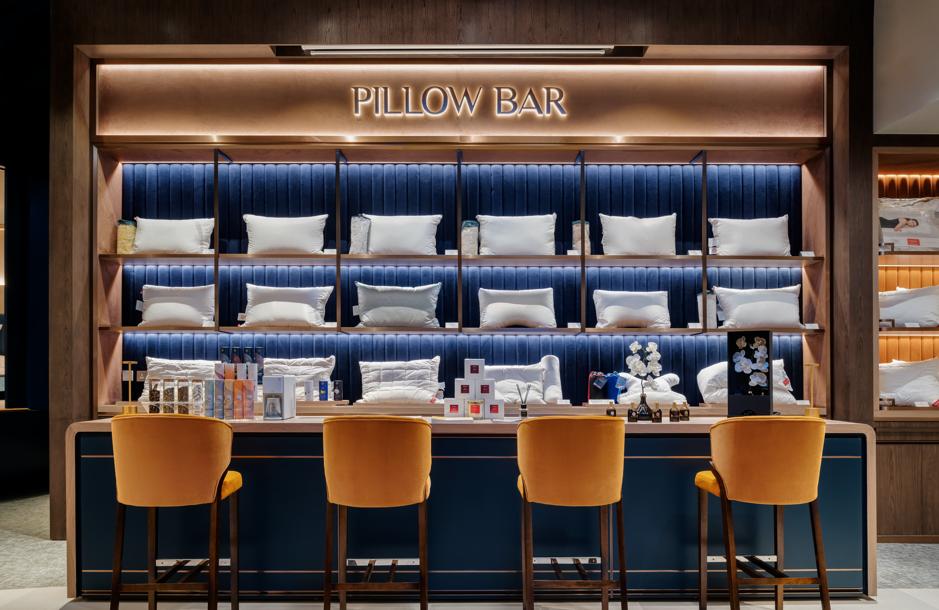 beyond sleep mattress showroom hong kong pillow bar