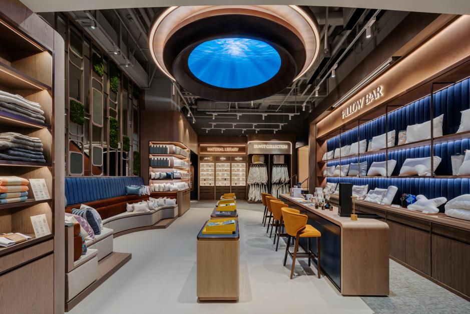 beyond sleep mattress showroom hong kong