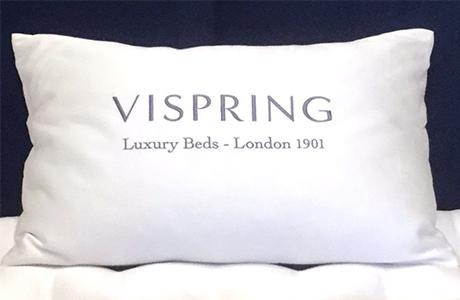 vispring sustainable mattress european duck feather & down pillow 鴨絨枕頭