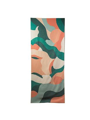 sora eco bamboo towel multi purpose abundance colour